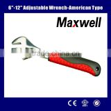 "6""-12"" Adjustable Wrench-American type"