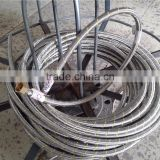 MZ brass fitting stainless steel flexible hose