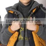 The baby sport thickened hoodie suit in autumn and winter