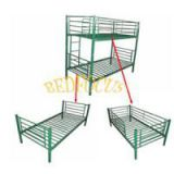 KD Structure Steel Bunk Bed Bed-H-023