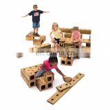 Modern Wooden Educational Toys Construct Building Blocks Sets For Kids