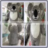 HI 2.5m giant inflatable mascot costume long plush koala costume Carnival mascot costume for adult
