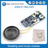 Pre-recordable sound module for greeting card bluetooth voice chip