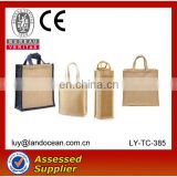 Factory wholesale Recycle cheap jute bag for good quality
