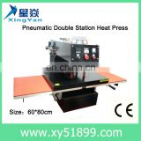 Pneumatic Double Station Heat Press Machine
