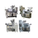 High Output Oil Press Machine Hot Press 70-100 Kg/h Soybean Oil Extraction Machine
