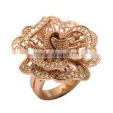 Neoglory Auden Rhinestone Copper Plated Adjusted Butterfly Finger Rings New Jewelry Accessories Gifts for Girls New Hot