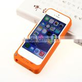 Power bank case Mobile phone charger for iPhone5,external battery charger case for iPhone5