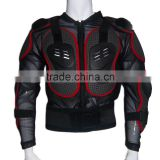 Black Red motorcycle or off road racing full body protector body armor