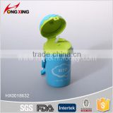 Plastic reusable filtering kids water bottles with a straw