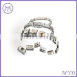 Professional factory Italian charms starter bracelet fit for Nomination