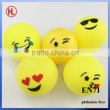 Emoji Emoticon Beer Pong Balls cheap Color custom logo ping pong ball ,table tennis ball wholesale                                                                         Quality Choice