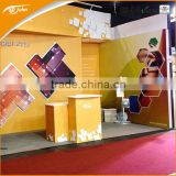 Aluminum truss trade show equipment with led light box