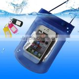 Water proof phone bag, mobile phone waterproof bag, pvc waterproof case for iphone