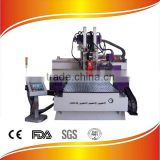 Remax-1530 YASKAWA servo motor and driver woodworking cnc router SYNTEC control system HSD air cooling spindle factory directly