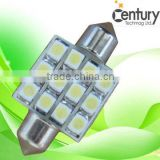 Alibaba wholesale suppliers led car parts smd5050 31mm 12v festoon interior car light 24v festoon car lamp