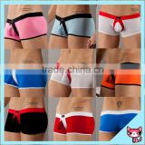 Hot Sexy Picture Boys Boxer Underwear Lycra Comfortable Mid Waist Boxer shorts underwear