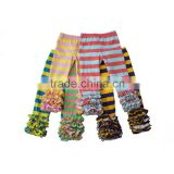 Low moq wholesale baby girls legging pant girls ruffle leggings kids tight pants                                                                         Quality Choice                                                     Most Popular