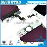 100% Original Spare Parts for iPhone 5S Screen, Lcd Screen With Touch Digitizer Assembly