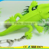 High Quality Promotional Cute Assorted Animal Sound Led Keychain