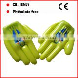 big hand for cheering/inflatable cheering hands/inflatable middle finger hands