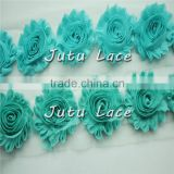 Hot Sale shabby Flowers/ Artificial Mini Roses flower/fashion hair accessories