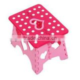 plastic folding step stool child stool kid stool