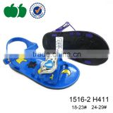 Cheap wholesale cute flat children jelly sandals for girl