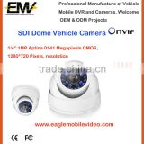 1080P HD-SDI dome vehicle Camera For inside car