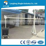 Cheap good quality cleaning lift platform / ZLP800 CE aluminum gondola / adjustable parapet clamp for rental