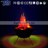 Fake fire led power supply artificial flame Halloween decoration lights with Tripod