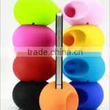 Novelty Fancy Smart Phone Accessories Portable Egg Shaped Speaker Mini Silicone Phone Holder