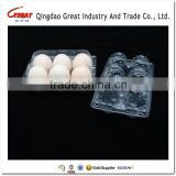 PET PVC Plastic Egg Tray with Labels Sticker