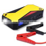 600A Peak 18000mAh Portable Car Jump Starter External Battery Smart Charger Power Bank with Compass & LCD Screen and LED Flash