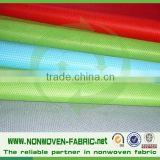 pp cross design non woven fabric for shoe linling, colorful non woven fabric in roll (pp cambrelle) made in china