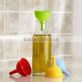 popular 100% food grade bpa free new design mini funnel