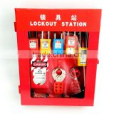 Combination Lockout Tagout Station Center Lock Filling Cabinet of 10 Locks