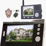 7 Inch Wireless Color Video Door Phone for Surveillance/ wireless unlock/hands-free call and talk KO-VD100