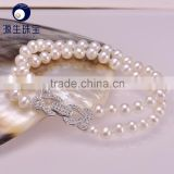 Latest Design small size 5-6mm Cultured fresh water pearl bracelet with sterling silver S925