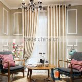 Pure color curtains with double wooden curtain rod bracket                                                                         Quality Choice