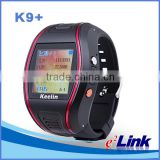 wrist watch gps tracking device for kids/gps watch K9+,One key for SOS help, remote monitor