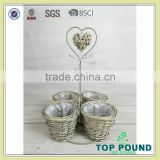 China wholesale merchandise garden wire plant pot stand