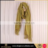 Hot new product wowen long scarf jewelry neck scarf fabric                                                                         Quality Choice