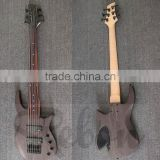 6 string fretless electric bass guitar