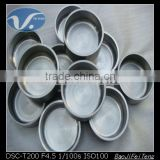 ASTM B 760 Grade W1 high quality purity 99.95% Tungsten crucible