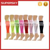A-282 Sports Endurance Support Leg Sleeve Graduated Shin Splints Calf Compression Sleeves Running Leg Sleeve Socks