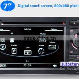 car Navigation GPS radio System for Audi A3 S3 2002-2012 DVD CD player video audio MP3 MP4 player