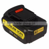 For DeWalt 20V MAX DCB204 Premium XR Lithium Ion Battery Pack 4.0 Ah Li-Ion