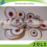 Customized 3D PP Lenticular Sticker
