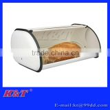 Hot sale white stainless steel storage bin for bread and food